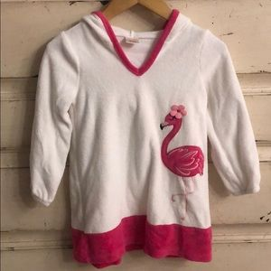 Gymboree flamingo cover-up